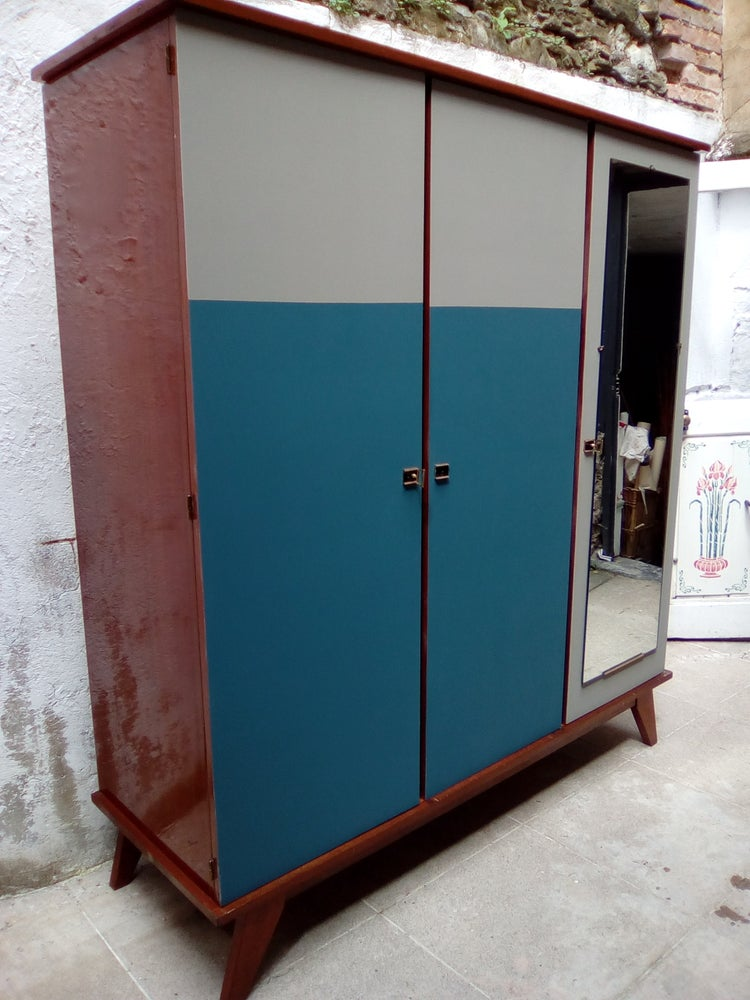 Image of Armoire 1970 compas- 2 tons