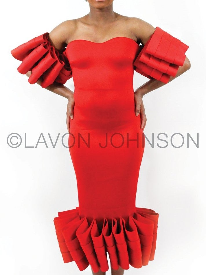 Image of Ruffles Galore Dress