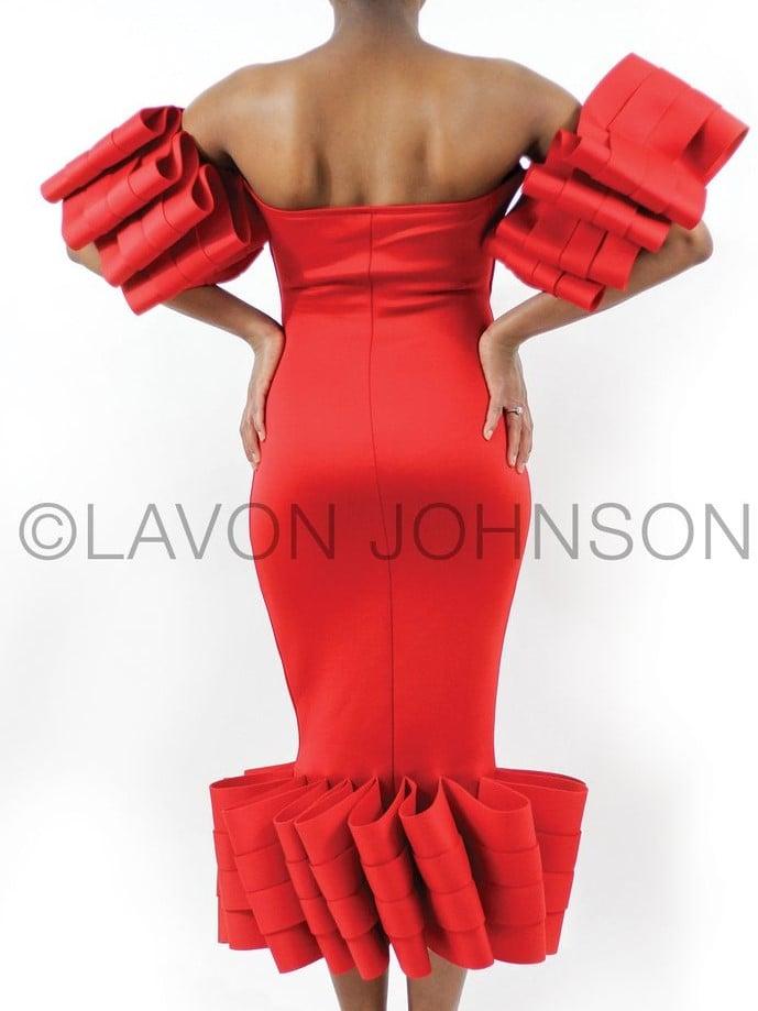 Image of Ruffles Galore Dress