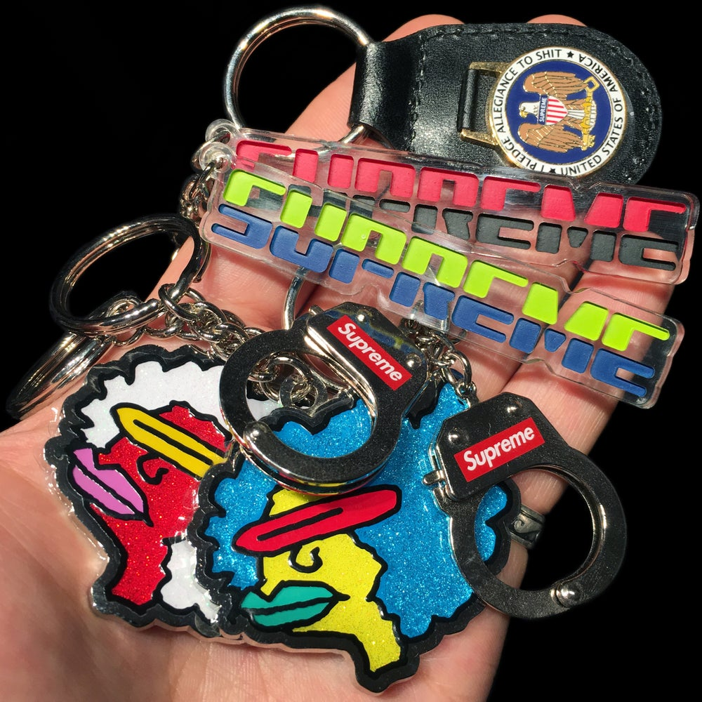 Image of 2017 Ramm KC, Handcuffs, Pledge Allegiance, & Embossed Keychains