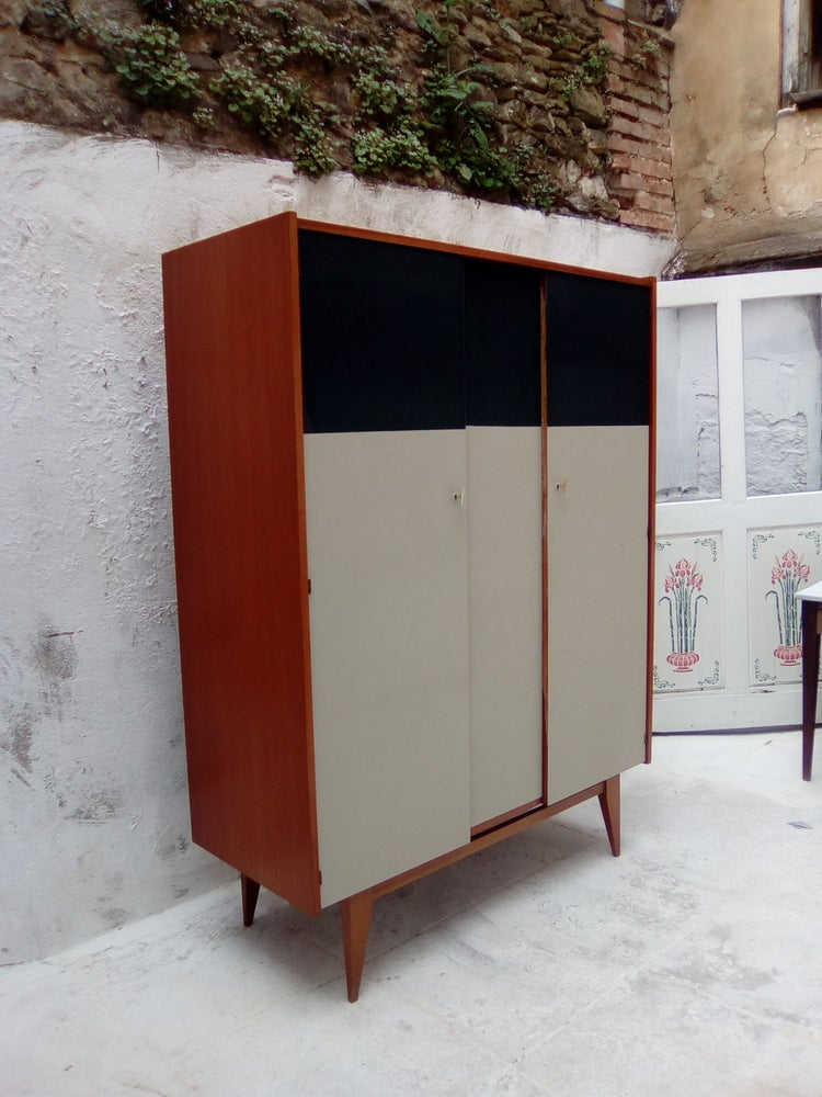 Image of Armoire étagéres-penderie  60'