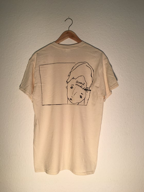 "Image of Shirt ""Absent Minded"" (true white)"