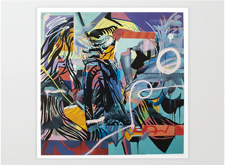 Image of Twerking in the lazy woods Giclee print