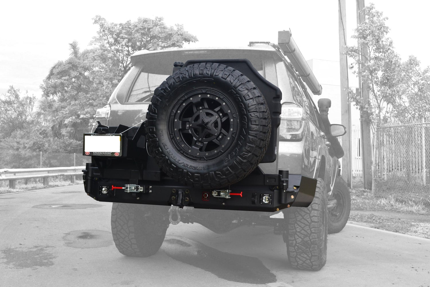 Image of Proline 4wd Equipment Rear Elite Bumper