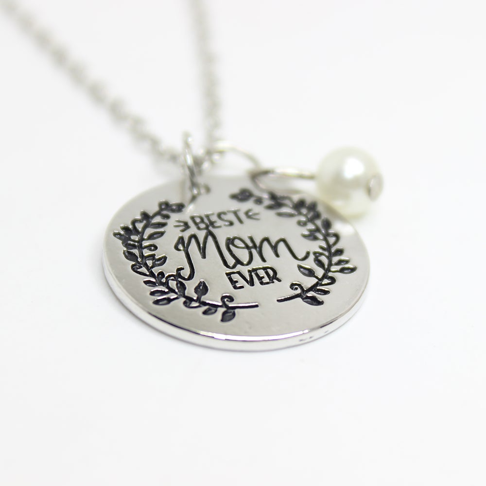75daa547746b5 Best Mom Ever Necklace