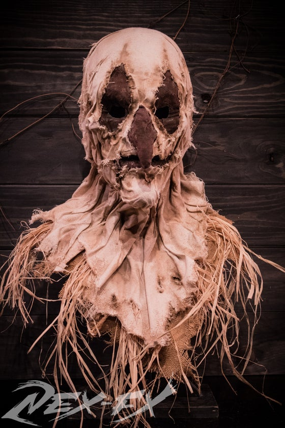 Image of Smirk the scarecrow mask
