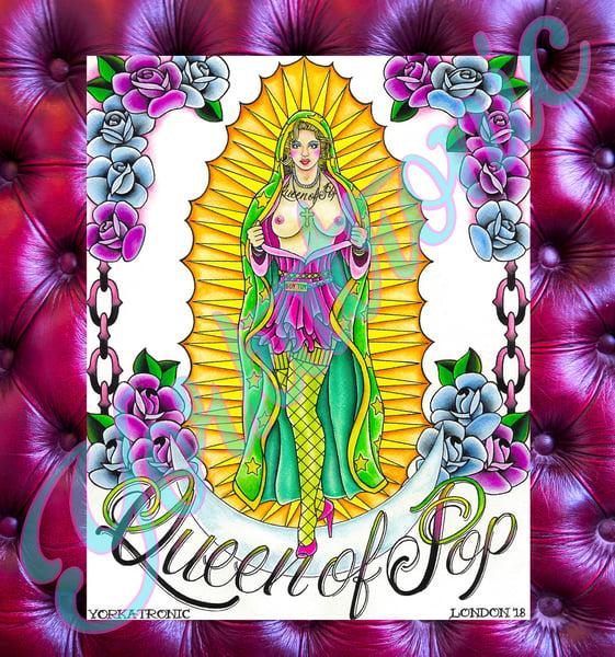 Image of Madonna de Guadalupe' Giclée Print