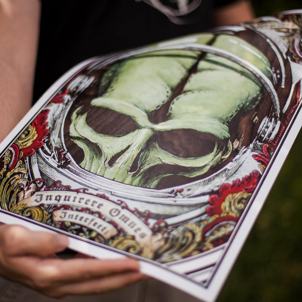 Image of Alien Invader - Limited Art Print