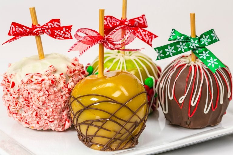 Image of Holiday Caramel Apple 4-Pack