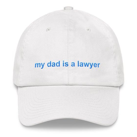 Image of privilege 3.0 dad hat (white)
