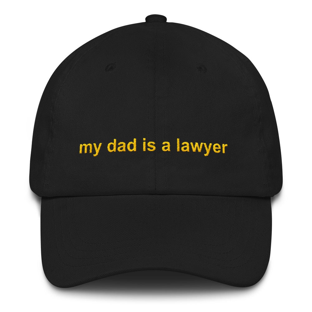 Image of privilege 3.0 dad hat (black)