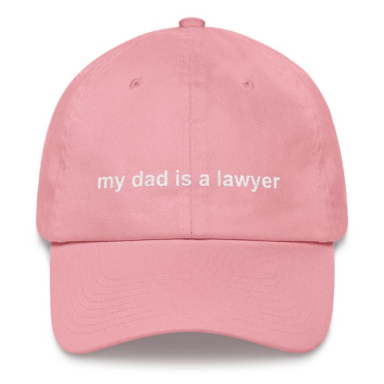 Image of privilege 3.0 dad hat (pink)