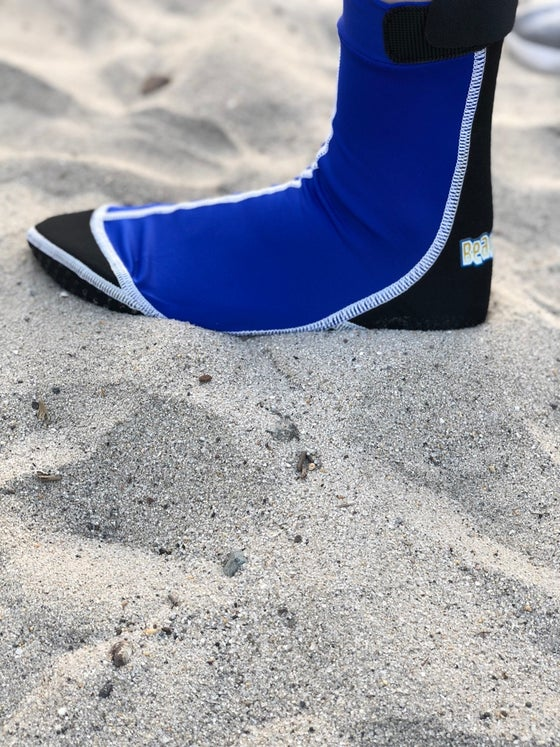 Image of Sand Socks - Blue