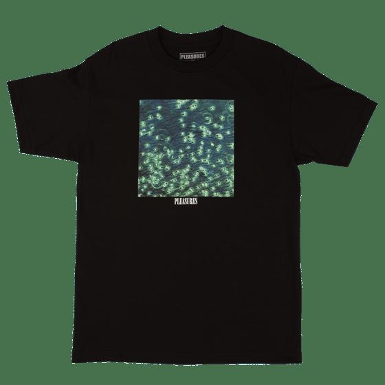 Image of PLEASURES - CONCEPTION T-SHIRT (BLACK)