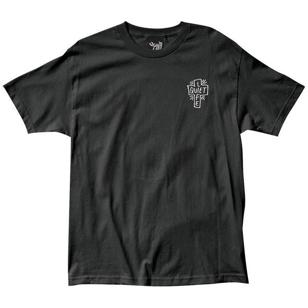 Image of THE QUIET LIFE - SHARPIE LOGO T (BLACK)