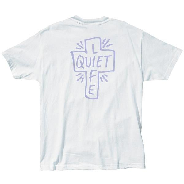 Image of THE QUIET LIFE -  SHARPIE LOGO T (WHITE)