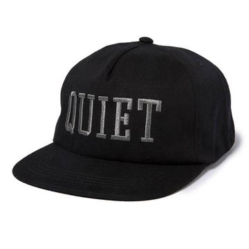 Image of THE QUIET LIFE - QUIET UNSTRUCTURED SNAPBACK(BLACK)