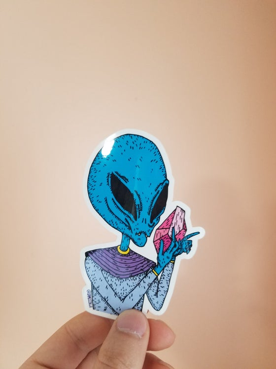 Image of Alien Sticker