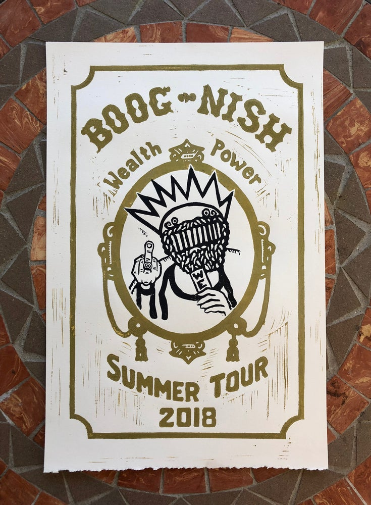 Image of Ween Summer Tour print