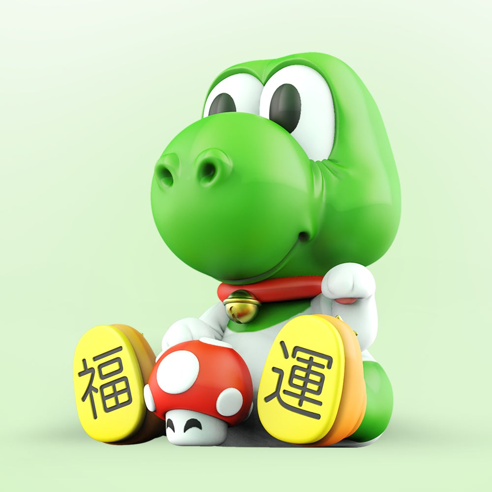 Image of 'MANEKI-DINO' ART TOY !