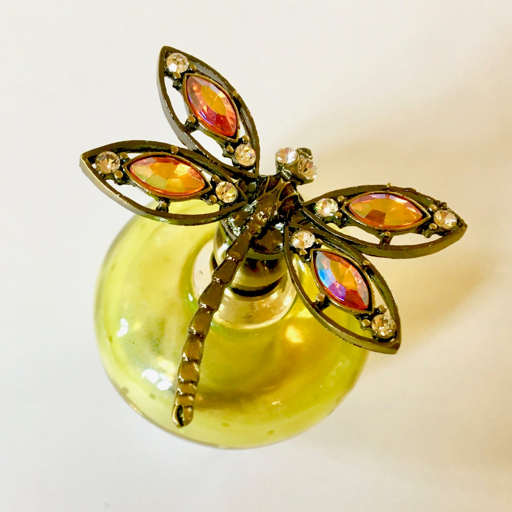 Image of Dragonfly Perfume Bottle