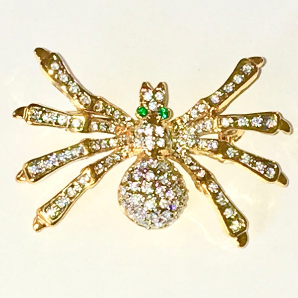 Image of Spider Brooch