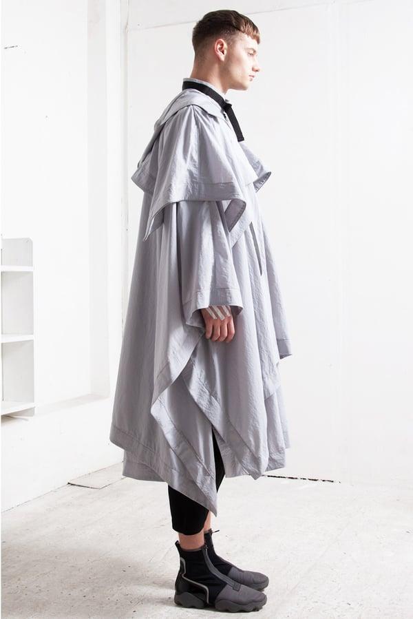 Labyrinth Cloak grey