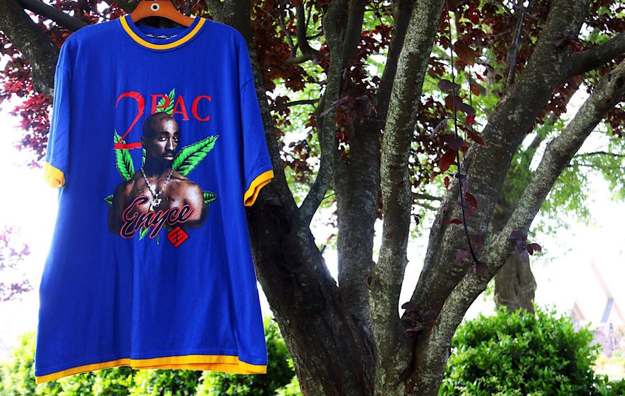 "Image of Rare 90's Vintage ENYCE ""2PAC"" Specialty Rap Tee Sz: XL"