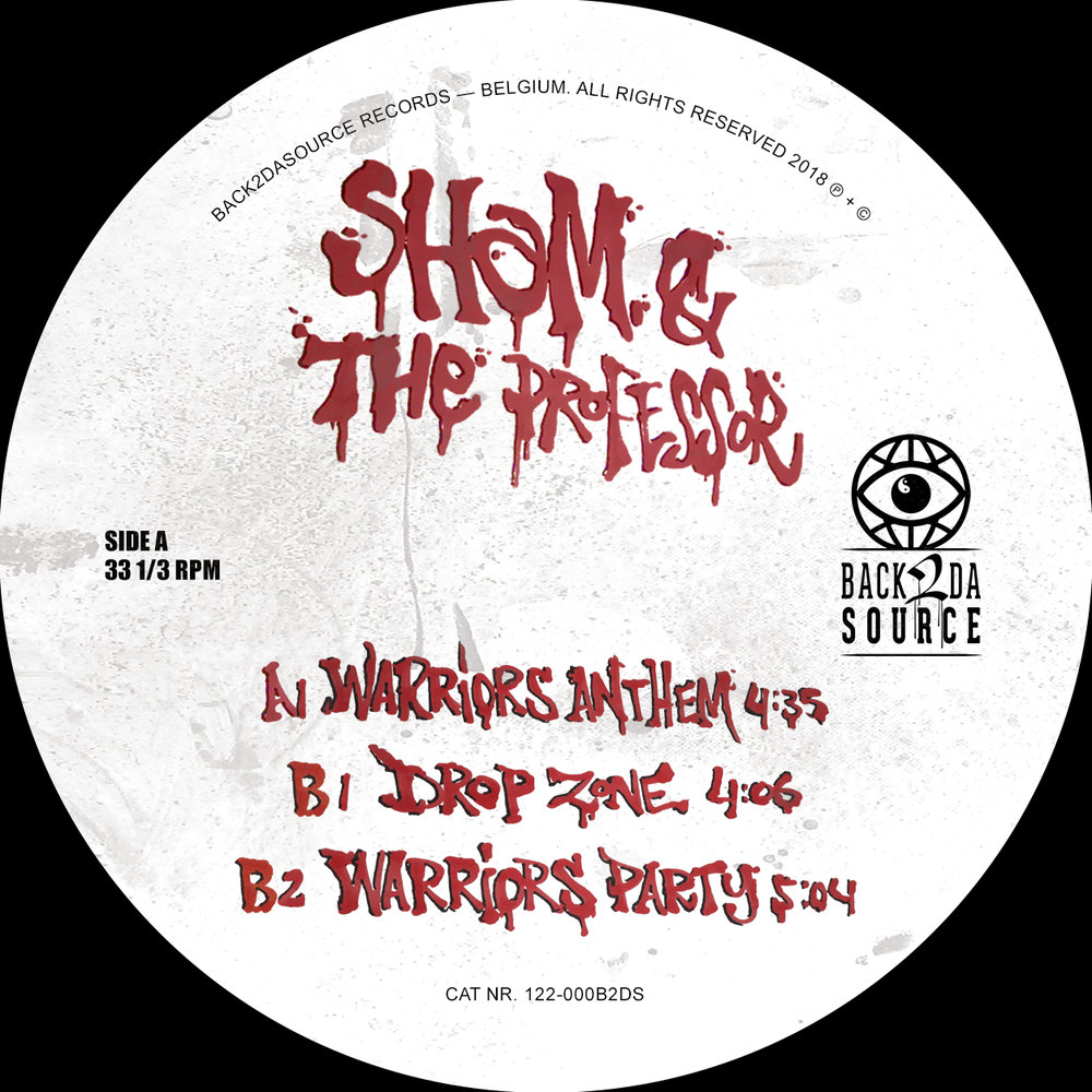 Image of Sham & The Professor -  The Warrior EP (PRE ORDER NOW)