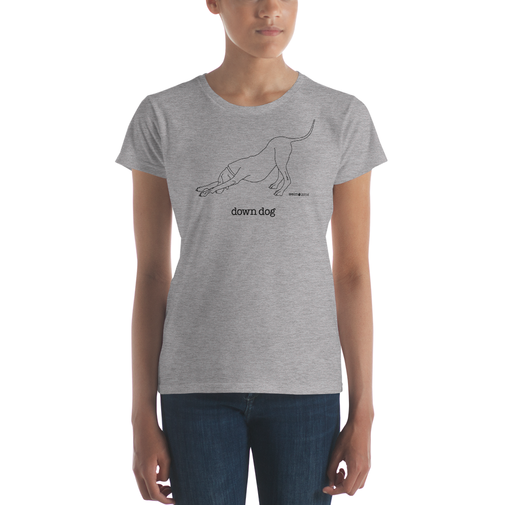 Image of Down Dog - Womens T-Shirt