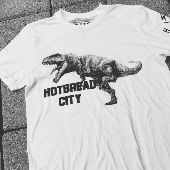 Image of HotBread City T-Rex tee