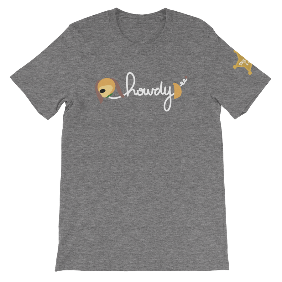 Image of Howdy - Unisex Tee (Shoulder Logo)