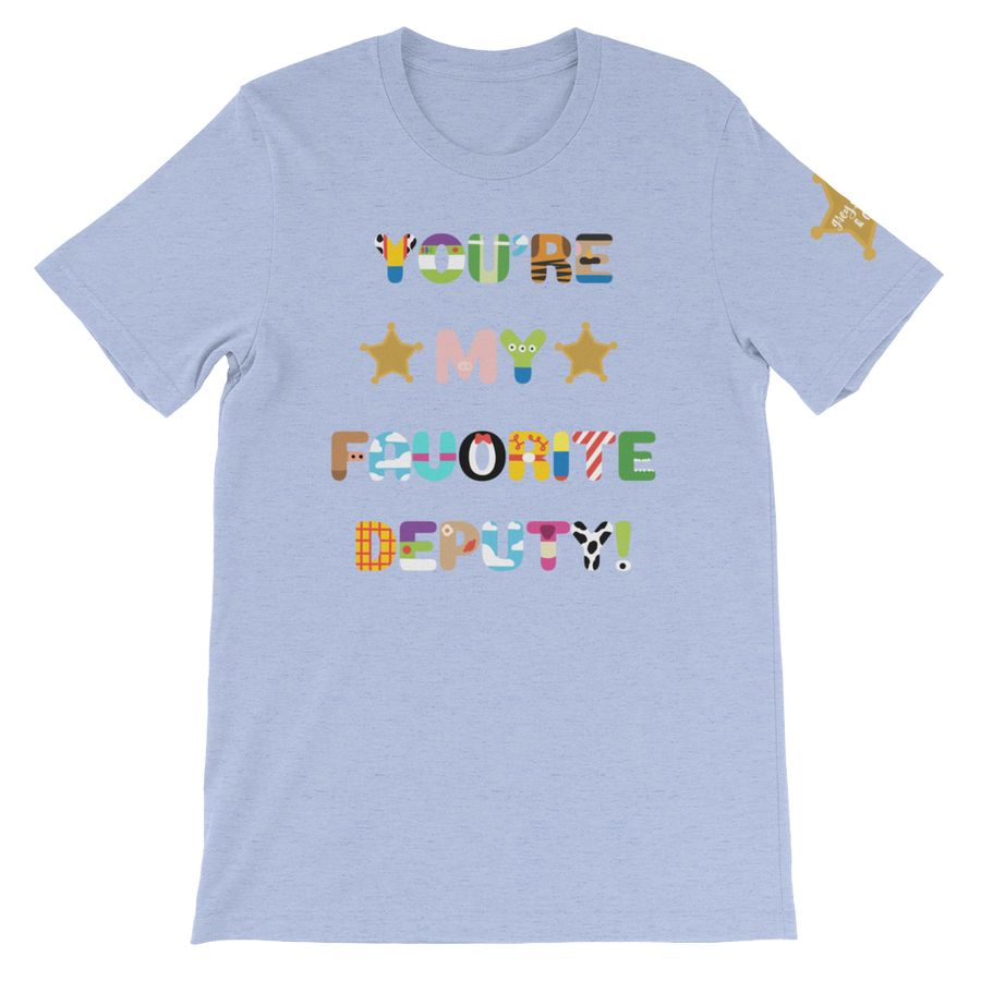 Image of Favorite Deputy - Unisex Tee (Shoulder Logo)