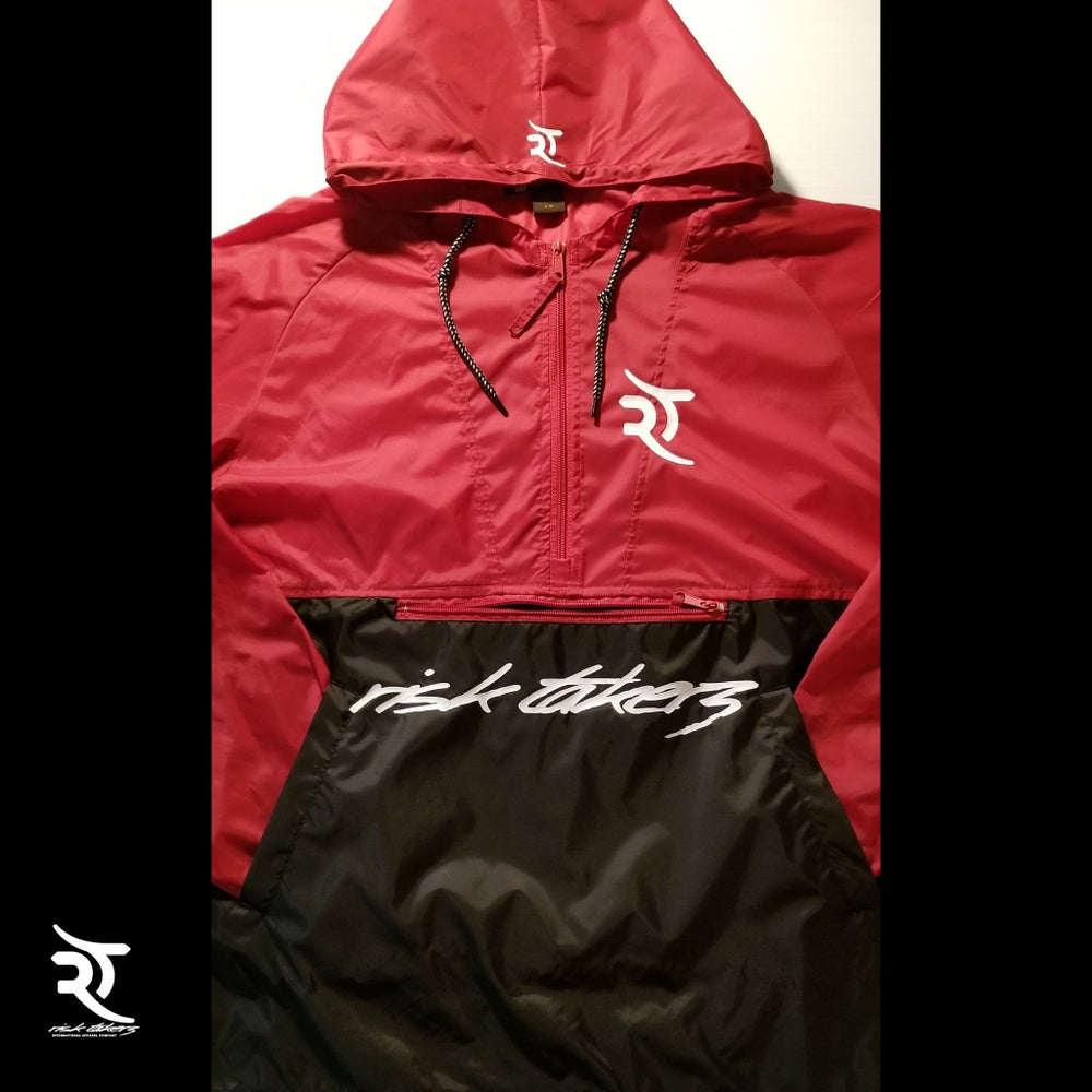 Image of Risk Takerz Nylon Pullover Hoody