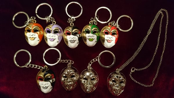 Image of The Devil - Keyring / Necklace