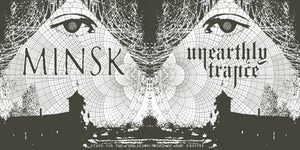 Image of UNEARTHLY TRANCE/ MINSK split 7""