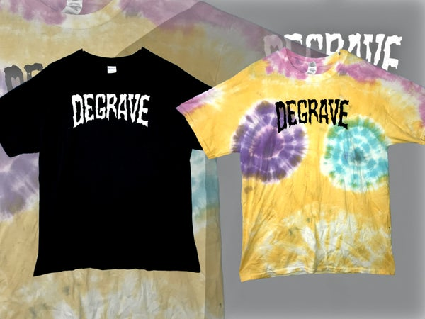 Image of 'Logo' T-Shirt (Black or Tie-Dye)