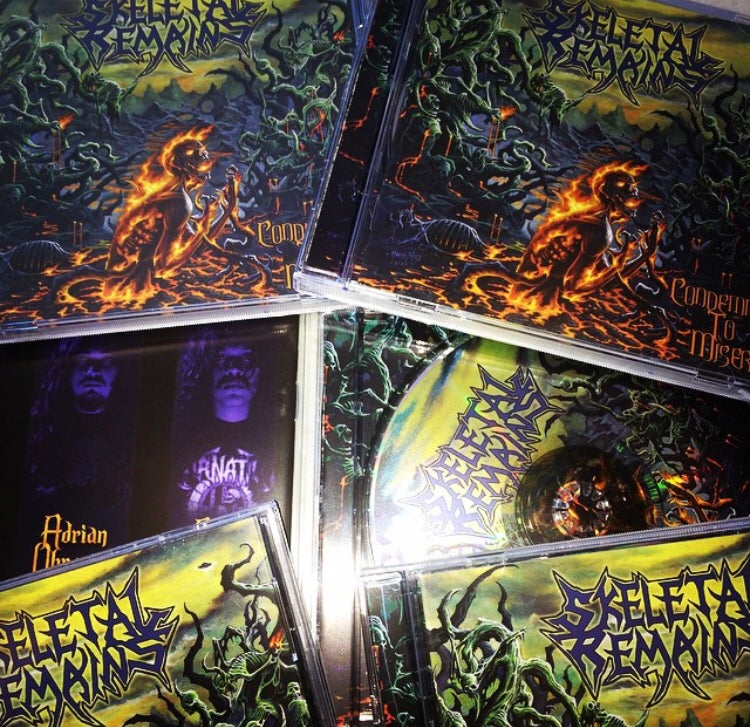 Image of Condemned To Misery CD/LP