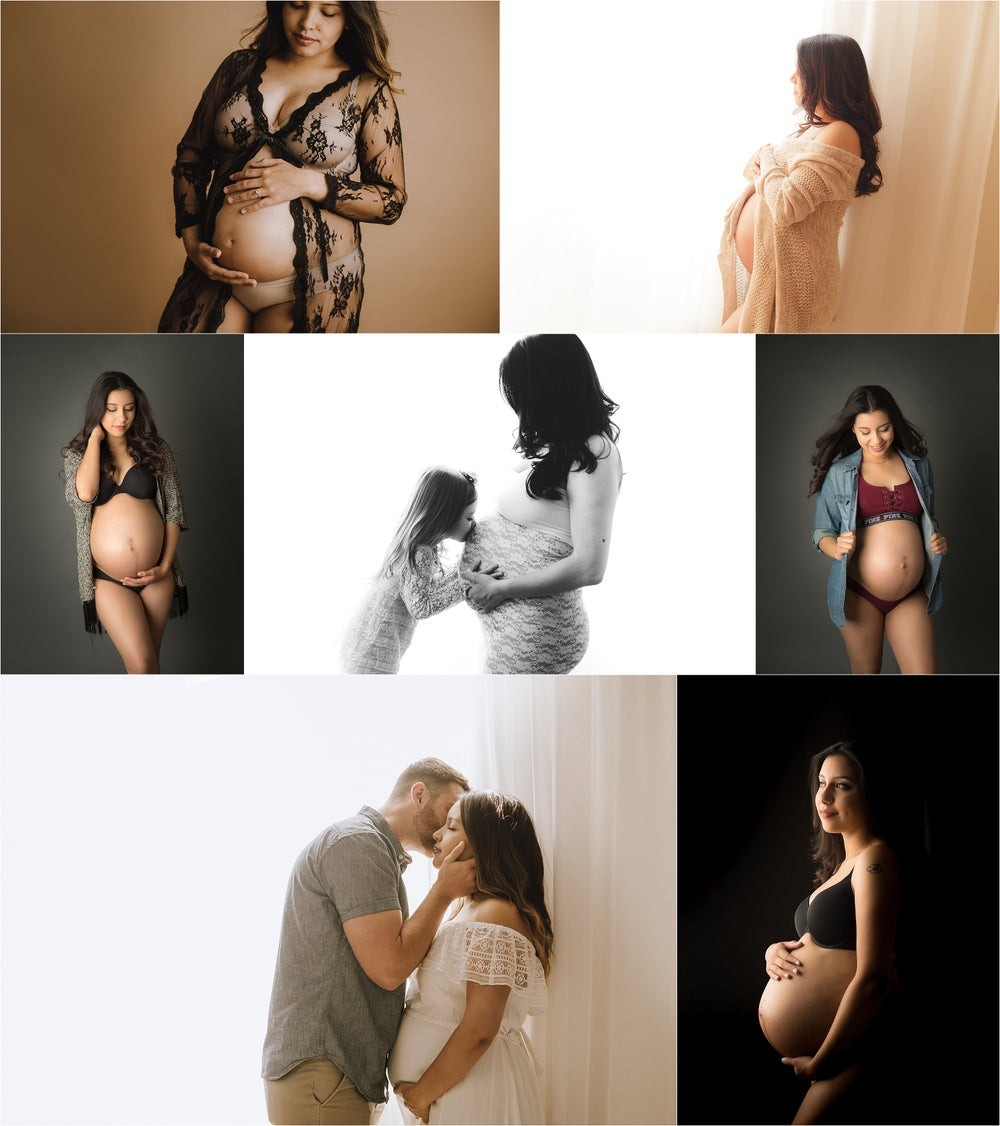 Image of In Studio Maternity Session