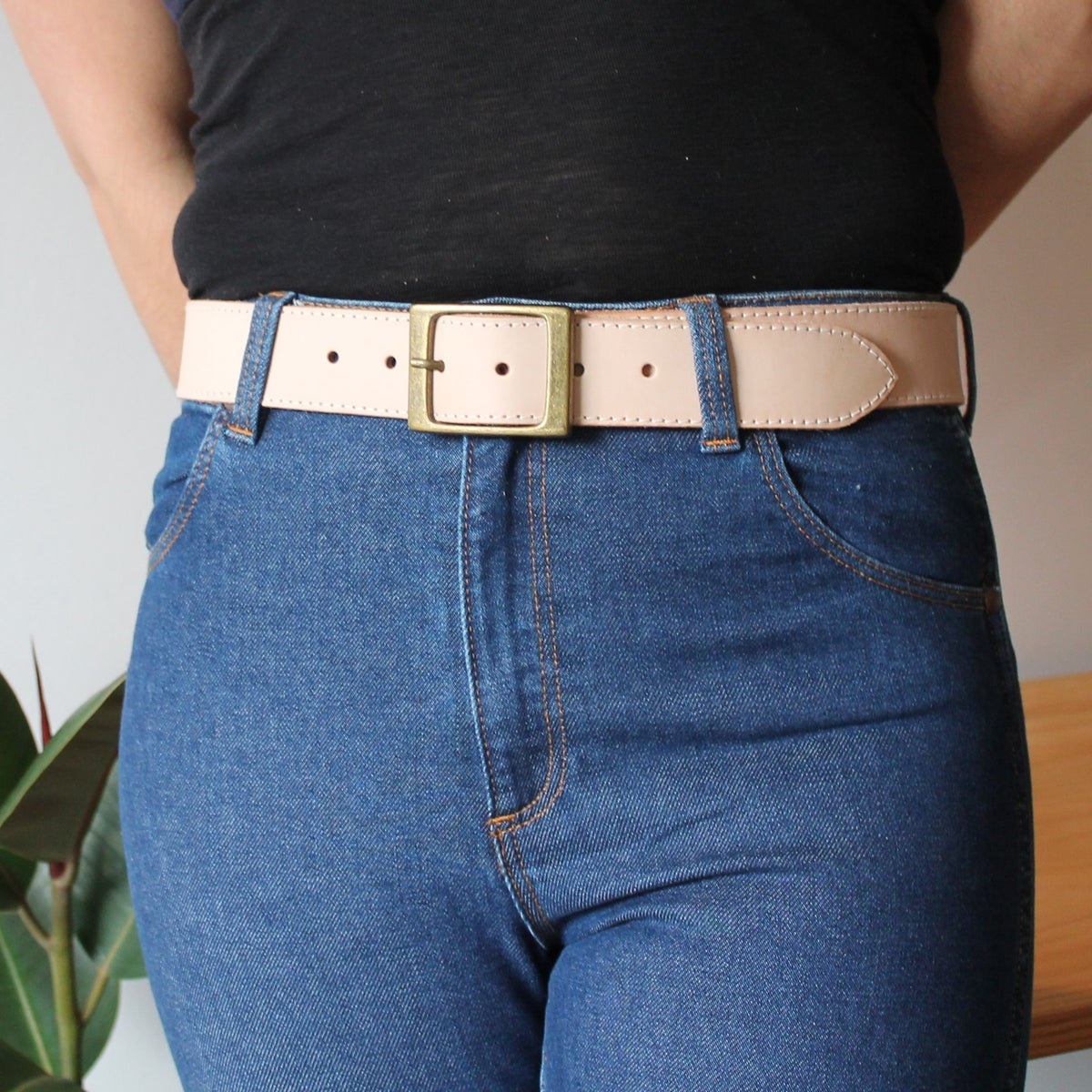 Image of Tan Belt 30-35""