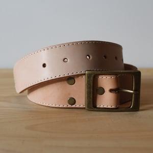 """Image of Tan Belt 30-35"""""""
