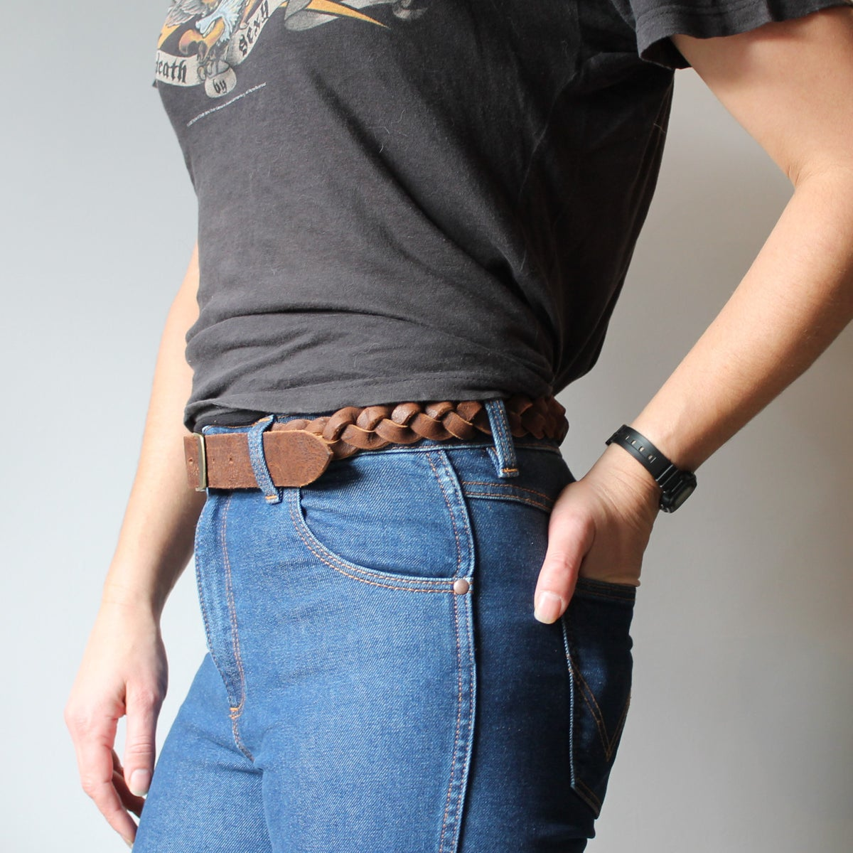 Image of Plaited Belt 29-34""