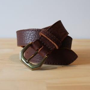 """Image of Chestnut Belt 30-35"""""""