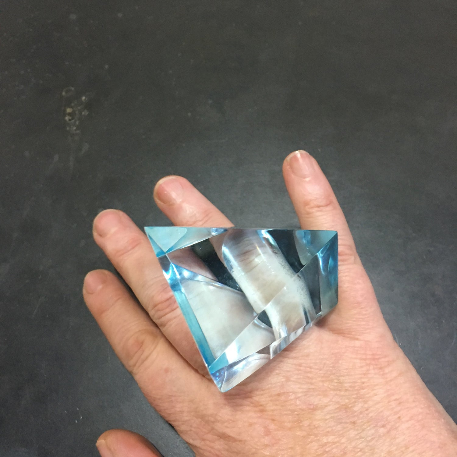 Image of XL Faceted Kaleidoscope Ring