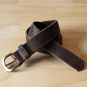 Image of Soft Leather Belt 29-35""