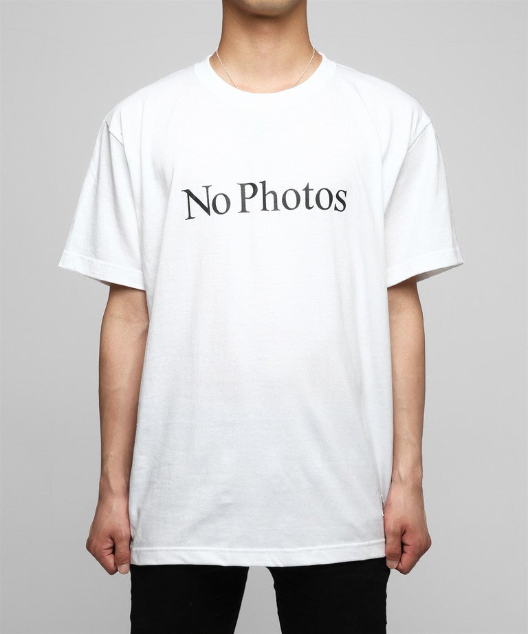 Image of FR2 - NO PHOTOS TEE (WHITE)