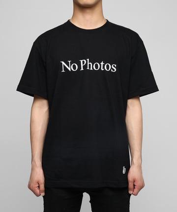 Image of FR2 - NO PHOTOS TEE (BLACK)
