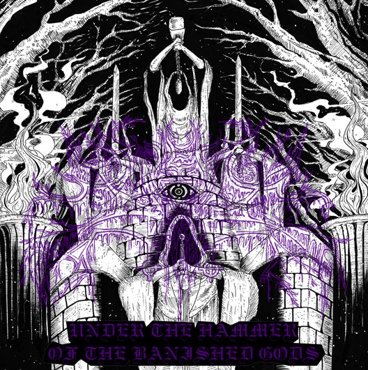 "Image of Malefic Sorcery - ""Under the Hammer of the Banished Gods""  CD"