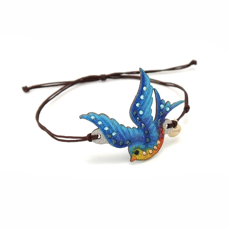 Image of BONHEUR - Bluebird small TATTOO