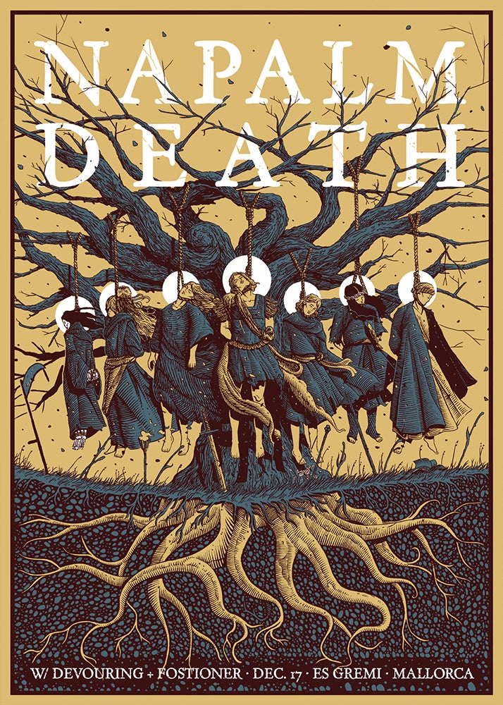 Image of NAPALM DEATH 'Hanging Tree'